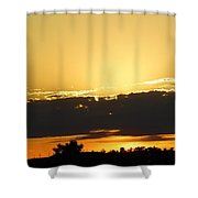 Tonights Sunset Shower Curtain