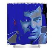 Tony Curtis Circa 1960 Color Added 2012 Shower Curtain