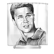 Tony Dow-whally Cleaver-murphy Elliott Shower Curtain
