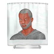Tony Parker Shower Curtain