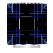 Too Hip To Be Square Shower Curtain