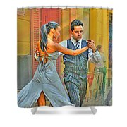 Too Tango Shower Curtain