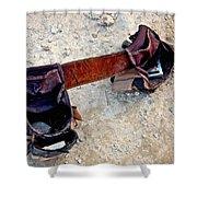Tool Belt Shower Curtain