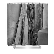 Tools Of The Salmon Fisherman Shower Curtain