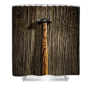 Tools On Wood 18 Shower Curtain