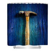 Tools On Wood 49 Shower Curtain