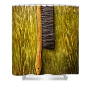 Tools On Wood 52 Shower Curtain