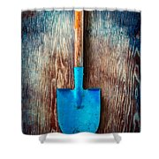 Tools On Wood 72 Shower Curtain