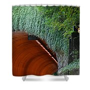 Tooth Rock Tunnel Shower Curtain