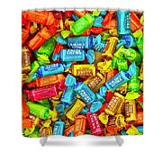 Tootsie Fruit Chews Shower Curtain