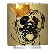 Top Dog Collection Shower Curtain
