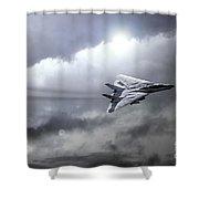 Top Gun Shower Curtain
