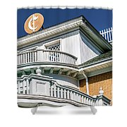 Top Of Large Residence In Marion 7986t Shower Curtain