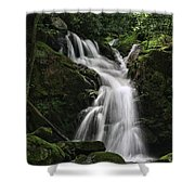 Top Of Mouse Creek Falls  Shower Curtain