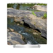 Top Of Noccalula Falls Shower Curtain