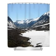 Top Of Rv 63 Shower Curtain
