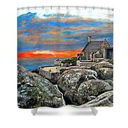 Top Of Table Mountain Shower Curtain