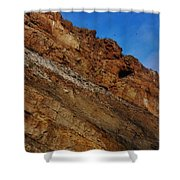 Top Of The Cliff Shower Curtain