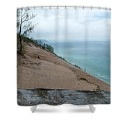 Top Of The Dune Shower Curtain