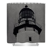 Top Of The Lighthouse Shower Curtain
