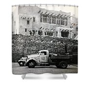 Top Of The Mountain Shower Curtain