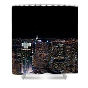 Top Of The Rock 3 Shower Curtain