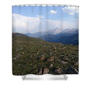 Top Of The Rockies Shower Curtain