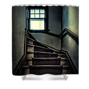 Top Of The Stairs Shower Curtain