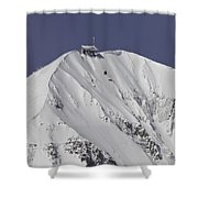 Top Of The Tram Shower Curtain