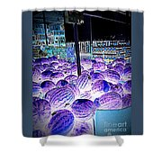 Top Secret Area 51 Watermelons Shower Curtain