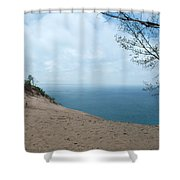 Top Side Shower Curtain