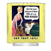 Top That -- Ww2 Propaganda Shower Curtain