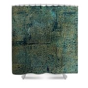 Topography Shower Curtain
