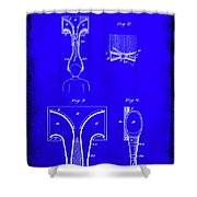 Topophone Patent Drawing  Shower Curtain