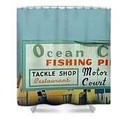 Topsail Island 1996 Ocean City Shower Curtain