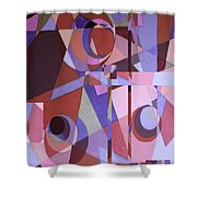 Topsy Turvy II Shower Curtain