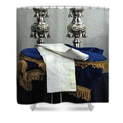 Torah Dressing Shower Curtain