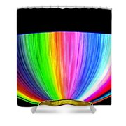 Torchiere Shower Curtain