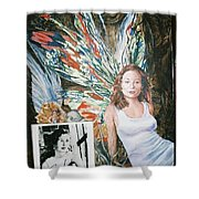 Tori Amos Shower Curtain