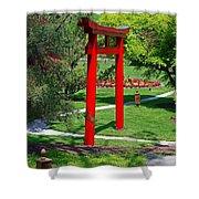 Torii Gate- Horizontal Shower Curtain