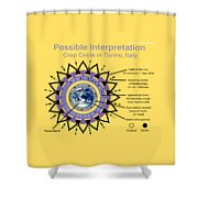 Torino 2015 Shower Curtain