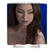 Toriwaits Nude Fine Art Print Photograph In Color 5072.02 Shower Curtain