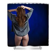 Toriwaits Nude Fine Art Print Photograph In Color 5085.02 Shower Curtain