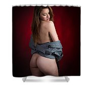 Toriwaits Nude Fine Art Print Photograph In Color 5089.02 Shower Curtain