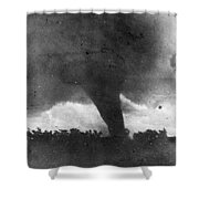 Tornado, C1913-1917 Shower Curtain