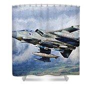 Tornado Gr4 - 2 Shower Curtain