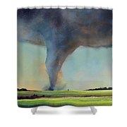Tornado Touchdown Shower Curtain