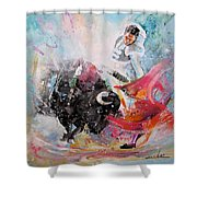 Toro Tempest Shower Curtain