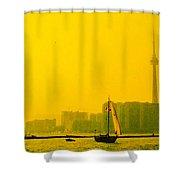 Toronto At Sunset Shower Curtain