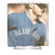 Toronto Blue Jays Josh Donaldson 4 Shower Curtain
